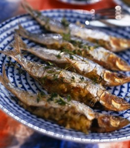 Sardines Stuffed with Spinach